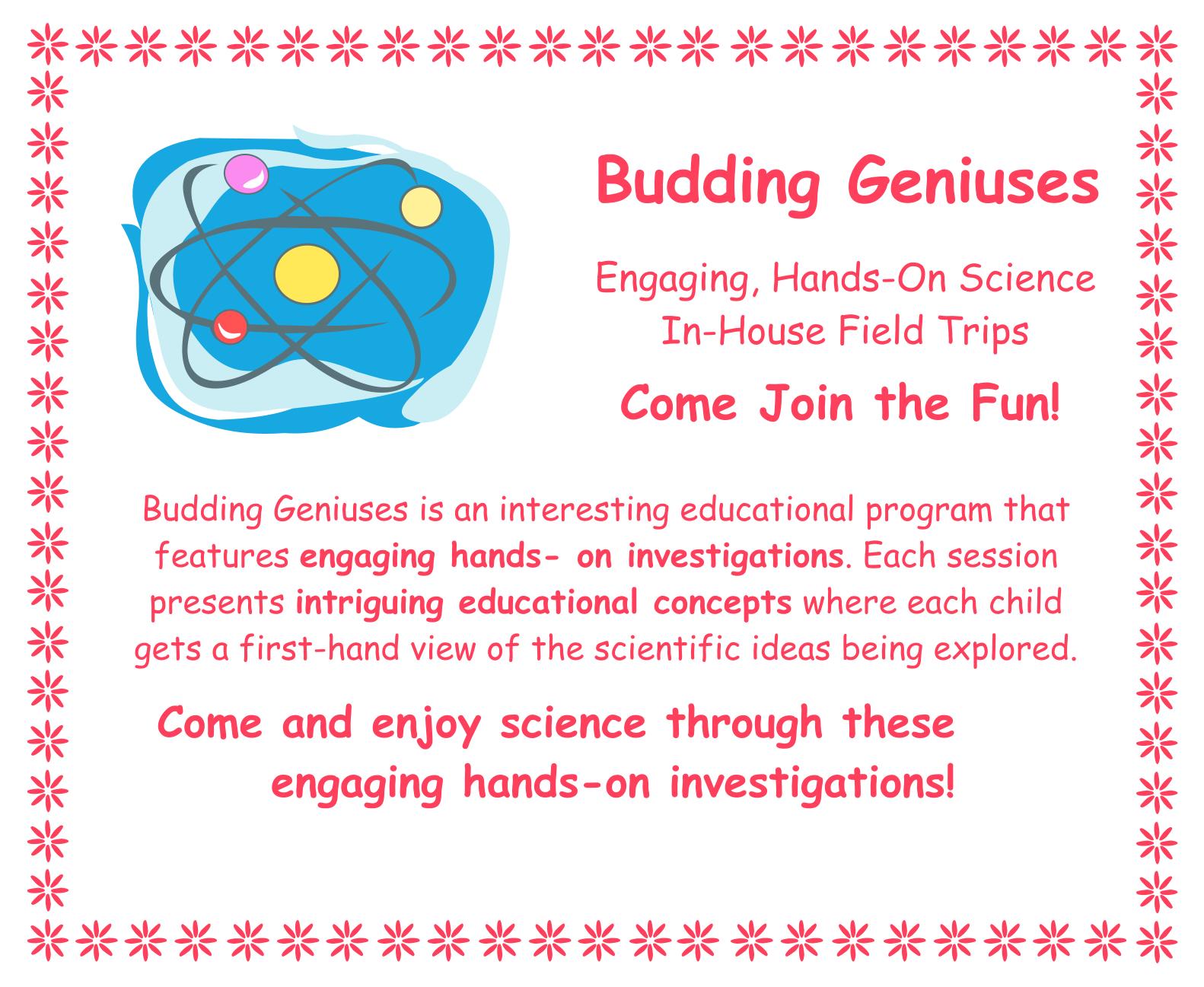 Budding Genius Science Lessons